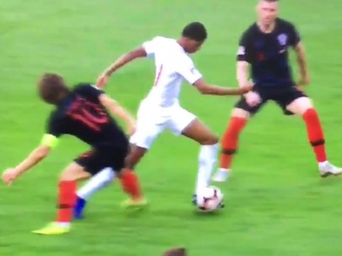 Marcus Rashford sends Luka Modric back to Spurs with superb skill in England vs Croatia