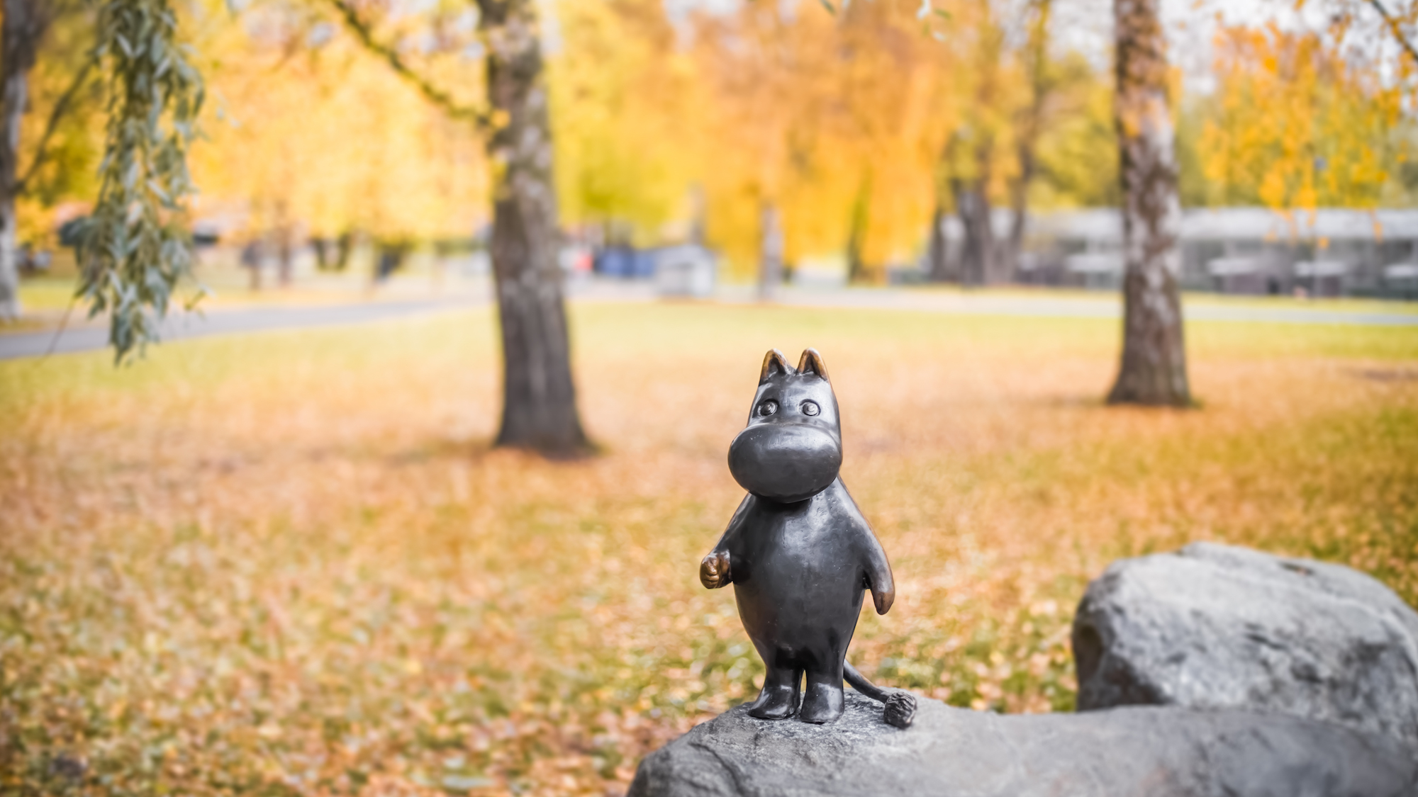 There's a Moomin museum in Finland and you should visit before the new series Moominvalley starts
