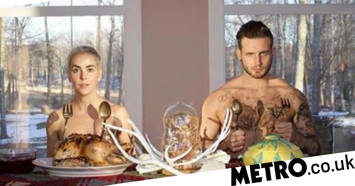 Nico Tortorella naked as he enjoys Thanksgiving with