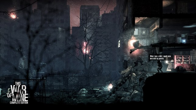 This War Of Mine: Complete Edition (NS) - realism can be hard to deal with