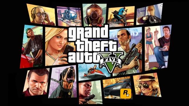 GTA 5 key art