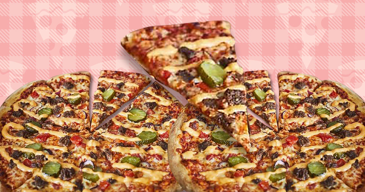 Dominos launches a cheeseburger pizza