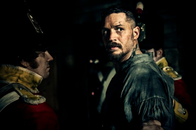 Television Programme: Taboo with Tom Hardy as James Delaney. TX: 28/01/2017 - Episode: Taboo - Ep 4 (No. n/a) Picture Shows: James Delaney (TOM HARDY) - (C) Scott Free Prods - Photographer: Robert Viglasky