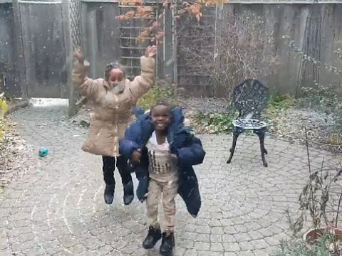 This video of Eritrean kids seeing snow for the first time will melt your heart