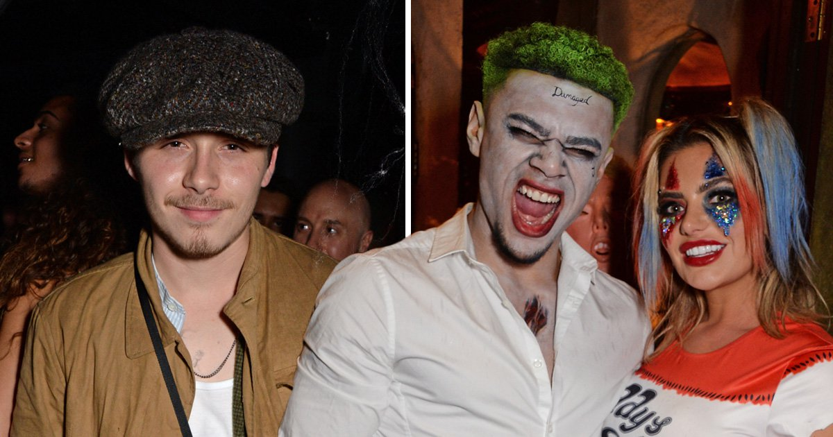 Brooklyn Beckham goes as himself while Wes and Megan put on united front for Halloween bash