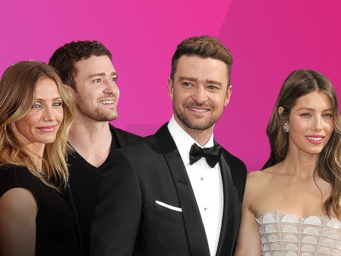 Did Justin Timberlake fall for Jessica Biel while he was still dating Cameron Diaz?