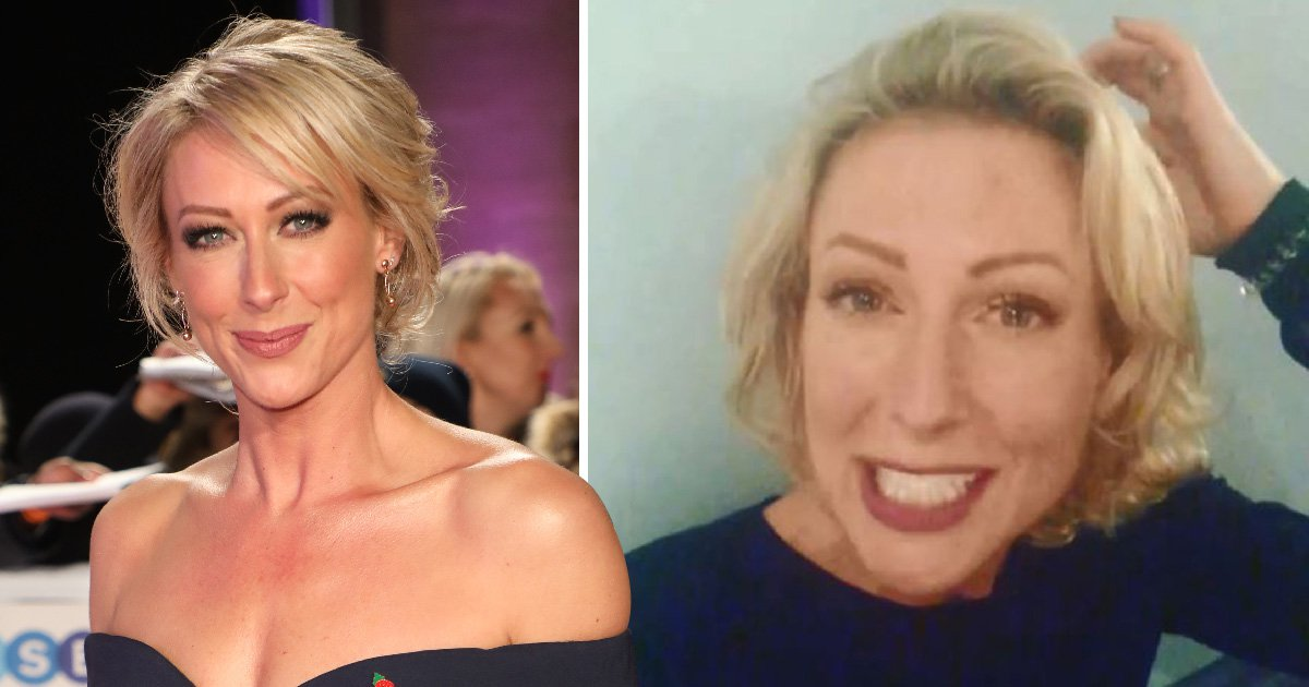 Strictly Come Dancing's Faye Tozer left in tears after 'smacking head on floor' during training