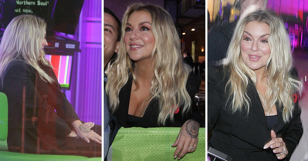 Sheridan Smith wants everyone to see her engagement ring