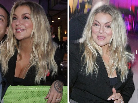 Sheridan Smith is showing off her £10,000 engagement ring at every opportunity and why not?