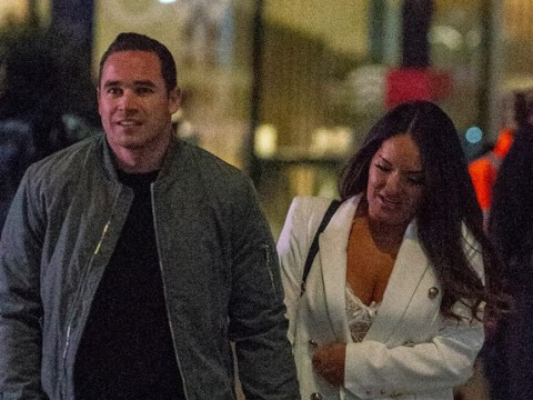 Katie Price runs into her exes on night out amid speculation she has rekindled romance with Kris Boyson