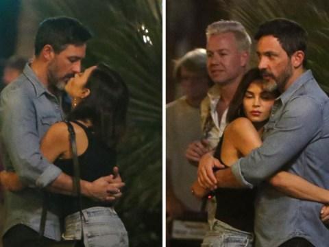 Jenna Dewan locks lips with new boyfriend Steve Kazee weeks after filing for divorce