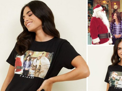 New Look releases Friends themed Christmas t-shirts