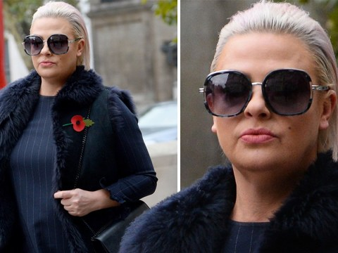 Lisa Armstrong means business as she arrives in court amid Ant McPartlin divorce