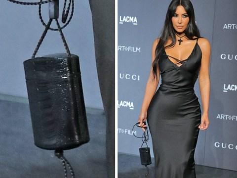 Kim Kardashian's latest red carpet look gets the meme treatment