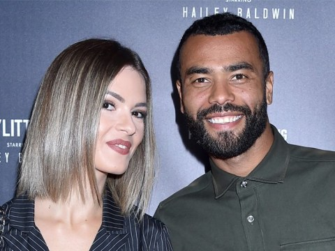 Ashley Cole looks pretty chuffed during rare appearance as ex-wife Cheryl announces new music