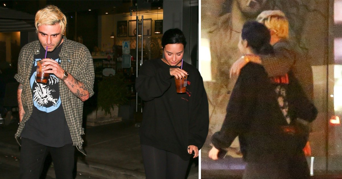 Demi Lovato enjoys day out with pal Henry Levy amid claims she's 'staying in rehab until the end of the year'