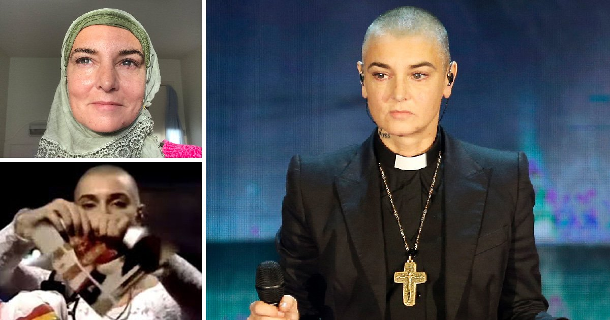 Sinead O'Connor's cross to bear: Star's open battle with religion from Catholic priesthood to Islam