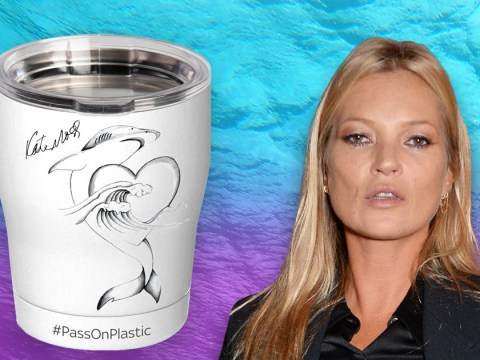 Kate Moss reveals design inspired by her 'hope for the ocean' as she urges fans to #PassOnPlastic