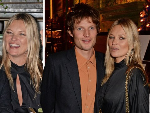 Kate Moss is all loved-up as she makes rare public appearance with Count Nikolai von Bismarck