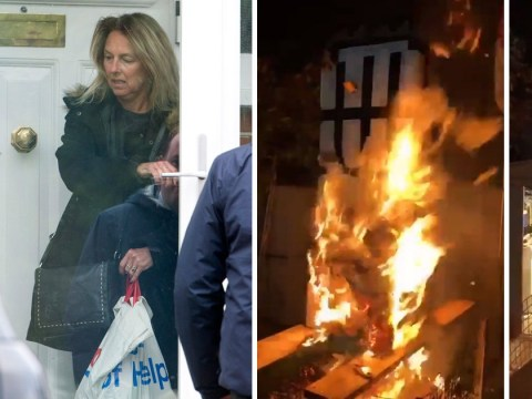 Grenfell Six go into hiding as friends deliver food and they're taken to secret location