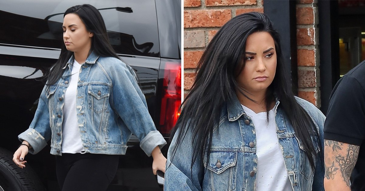 Demi Lovato looks healthy on coffee stop as she slowly returns to the public eye following rehab stint