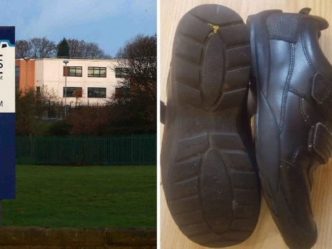 Boy kicked out of class for wearing 'unacceptable' M&S school shoes