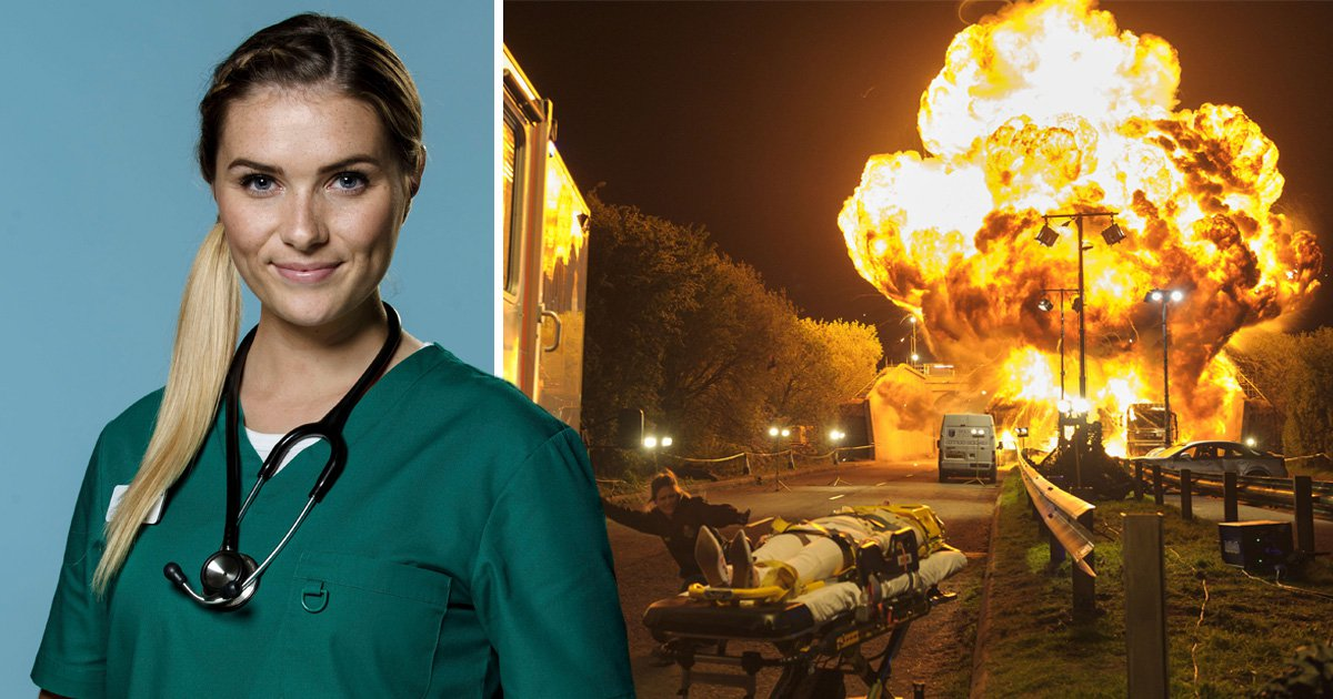 Casualty spoilers: Actress Chelsea Halfpenny teases big stunt ahead for Alicia Monroe