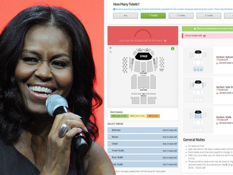 Michelle Obama Royal Festival Hall speech tickets are being sold for £7,000