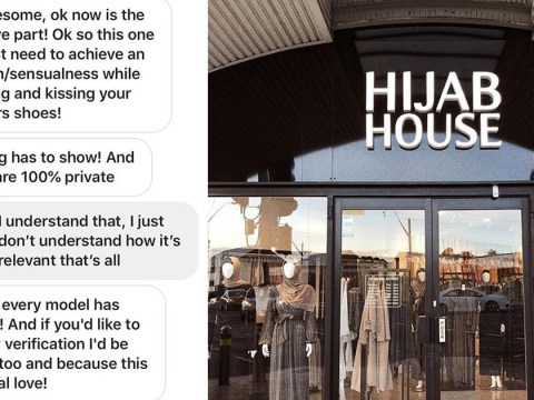 Muslim modest fashion brand hacked by sexual predator asking underage girls to send explicit pictures