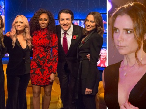 Spice Girls have disagreement over Victoria Beckham's return in first TV interview on The Jonathan Ross Show