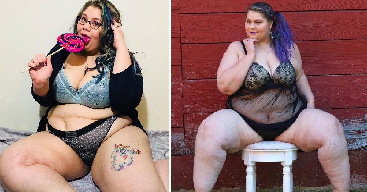 Lingerie model told to kill herself because of her weight now champions feeling sexy at any size