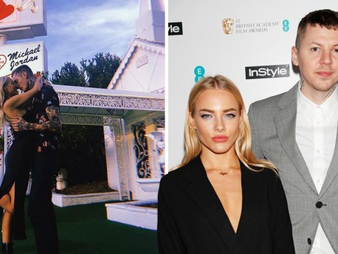 Professor Green's ex gets married in Vegas seven months after her split from the rapper
