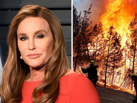 Caitlyn Jenner's home 'burns down' in California wildfires