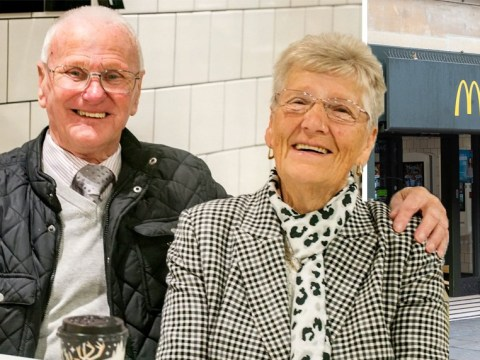 Tom, 83, and Pauline, 82, have visited McDonald's every day for 23 years