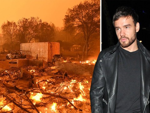 Liam Payne worried about 'losing his house' as the California wildfires continue to spread