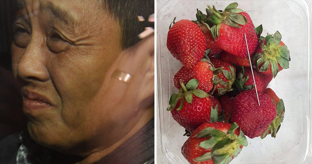 Strawberry farm worker 'put needles in the fruit in revenge attack'