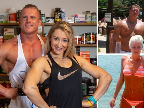 Average couple become bodybuilding champions in one year