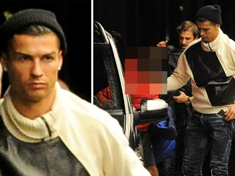 Cristiano Ronaldo slips into London with girlfriend Georgina Rodriguez as he opens swanky restaurant