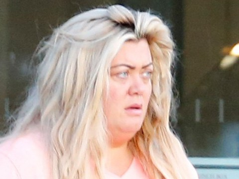 Gemma Collins emerges from hardcore Dancing on Ice training session as she jokes her 'life is over'