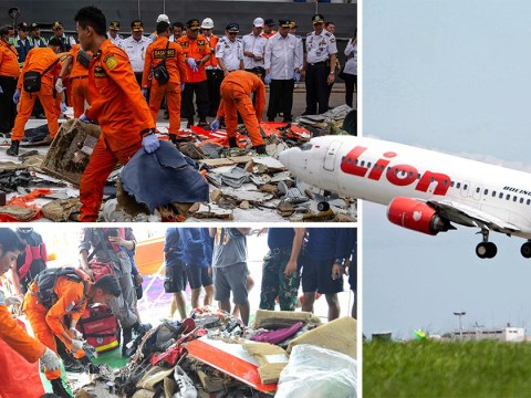 Boeing 'may be at fault in Lion Air crash' which killed 189 people