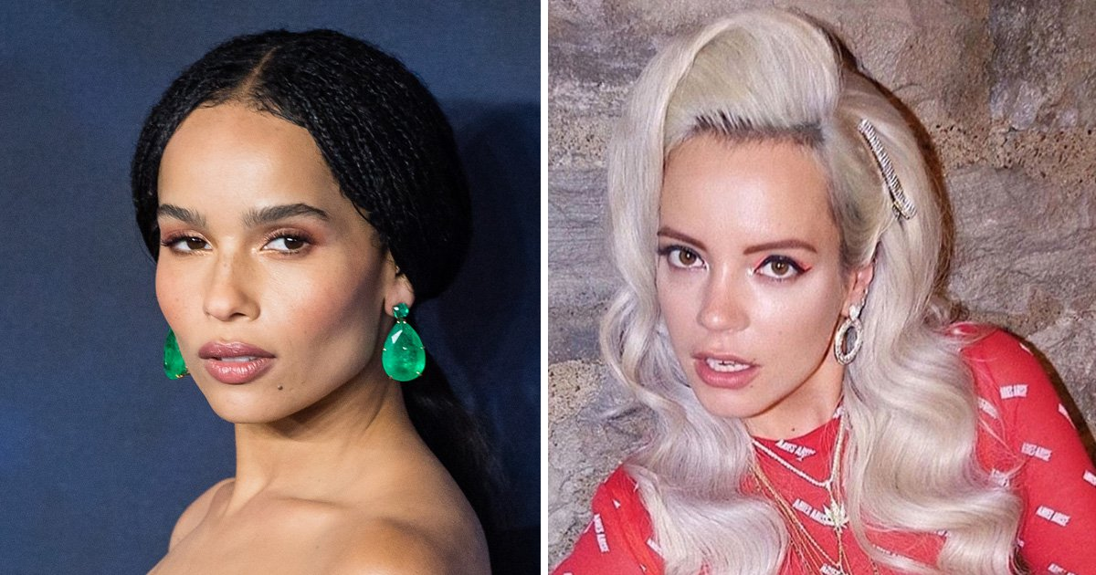 Zoe Kravitz has a very different take on her 'kiss' with Lily Allen: 'She attacked me'