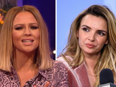 Kimberley Walsh hits back at Nadine Coyle over Girls Aloud rivalry: 'That's simply not true'