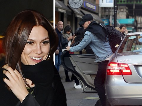 Channing Tatum needs to chip in for some milk as he stays with Jessie J for another night in London