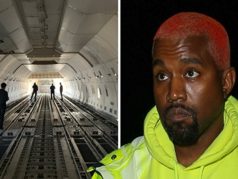 Kanye West wants a military plane for his new office