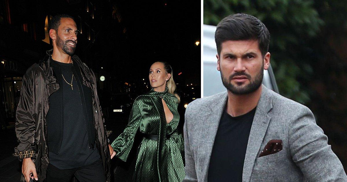Kate Wright's ex-boyfriend Dan Edgar breaks silence on Rio Ferdinand engagement