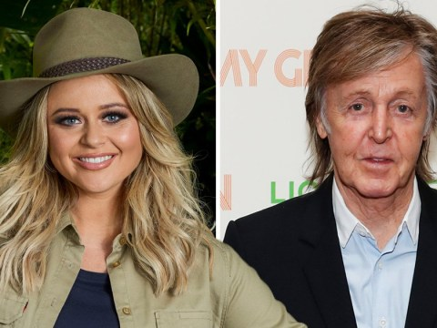 I'm A Celebrity's Emily Atack hopes relative Sir Paul McCartney is supporting her as she prepares for Sunday's launch