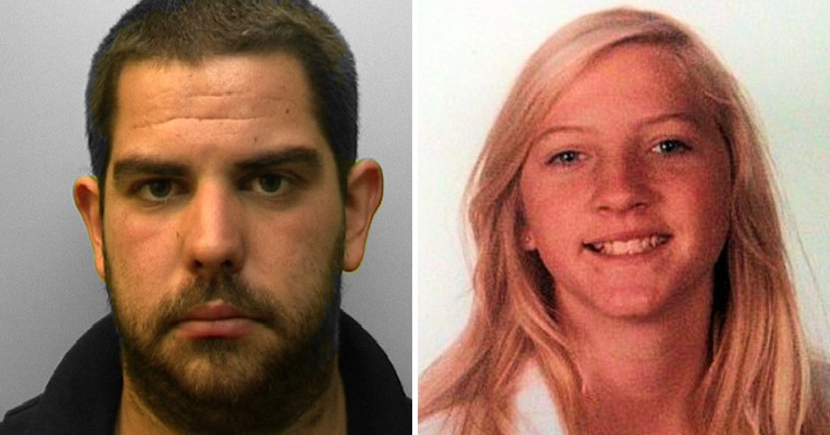 Killer's pout revealed he had murdered teenage girl
