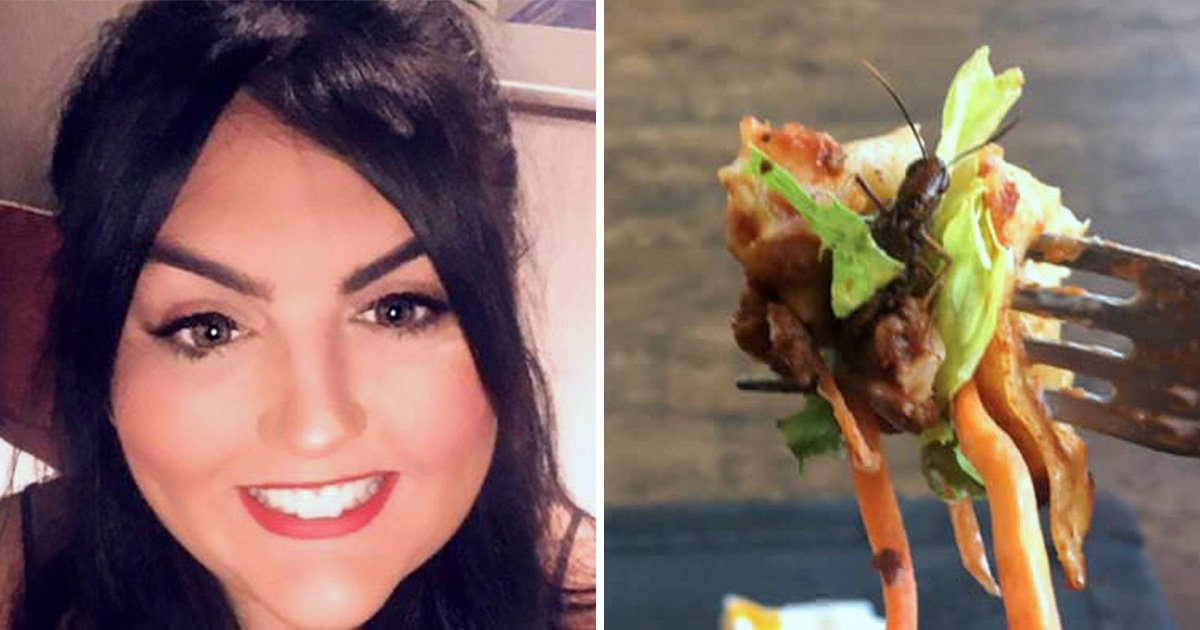 Woman finds grasshopper in 'Simple Salad' from Tesco