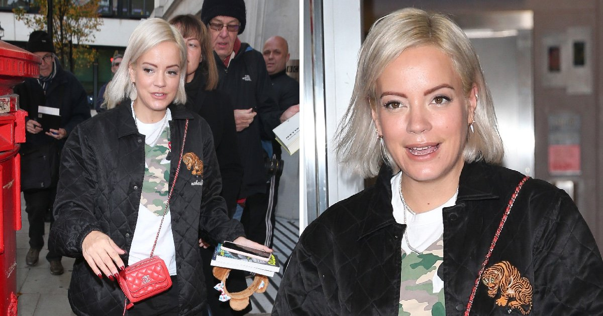 Lily Allen spotted looking casual after Zoe Kravitz claims she 'attacked' her