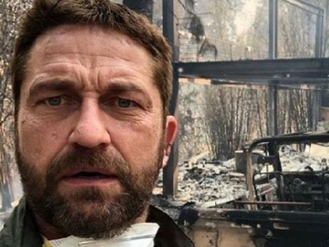 Gerard Butler hosts star-studded fundraiser in aid of California wildfires after losing his home to the Woolsey Fire